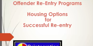 Offender Reentry Programs - Housing Options for Successful Tribal Reentry webinar screenshot