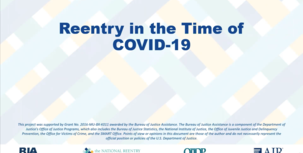 Reentry in the Time of COVID-19 webinar screenshot