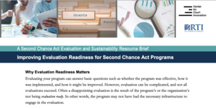 Improving Evaluation Readiness Brief cover image