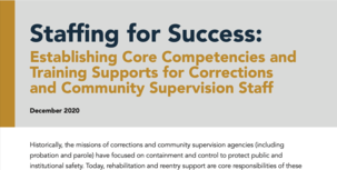 Staffing for Success report cover image