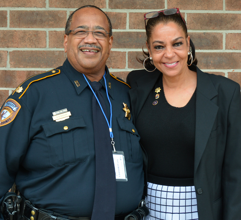Santa Maria Hostel teams up with local partners Major Edwin A. Davis of the Harris County Sheriff's Office and Kathryn Griffin-Grinan, who runs We've Been There, Done That, a reentry program in Harris County that focuses on women involved with prostitution.