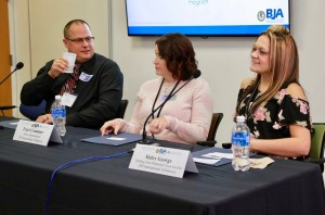 Scott Crago, plant manager JSP International, Traci Crummer, plant administrator at JSP International, and Haley George, quality auditor at JSP International and MTRR graduate discuss creating job opportunities for people returning home after incarceration.